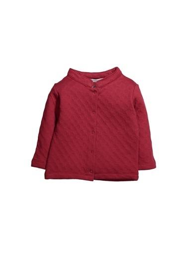 Zeyland Dokulu Çıtçıtlı Sweatshirt (12ay-4yaş) Dokulu Çıtçıtlı Sweatshirt (12ay-4yaş) Bordo